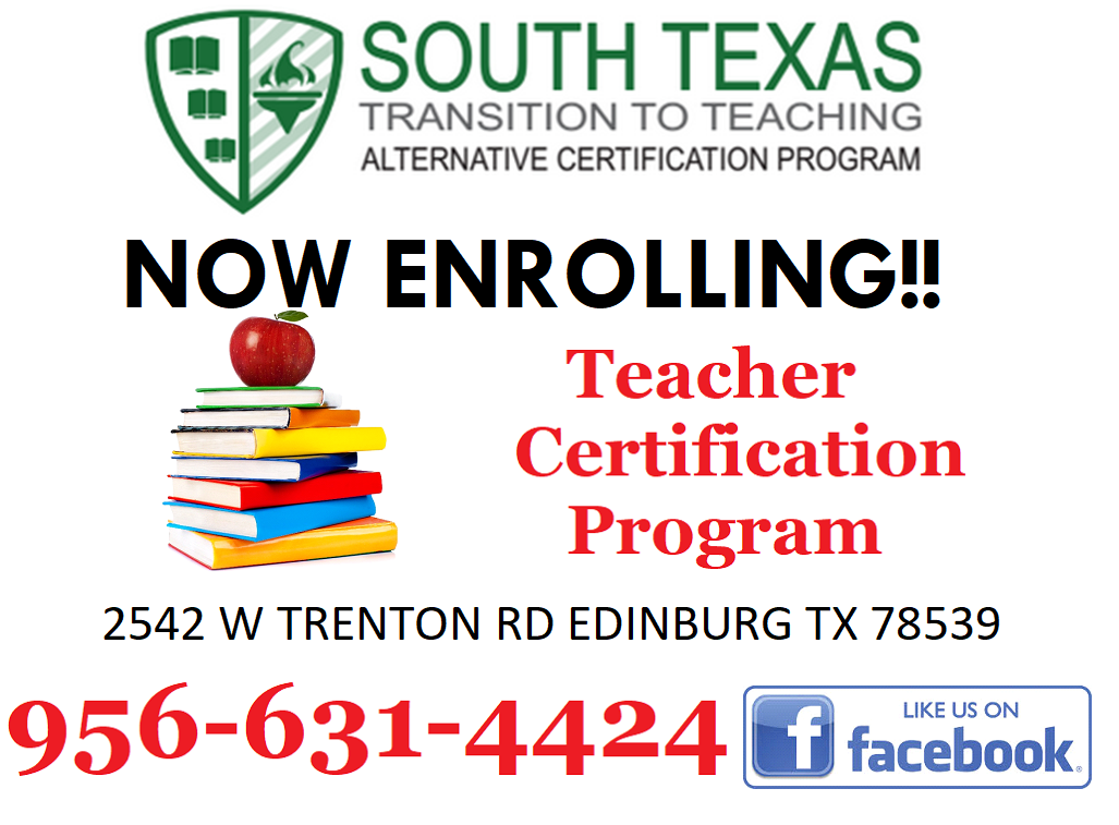 Announcements | South Texas Transition to Teaching